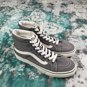 Vans| Grey and white sk8 hi